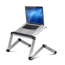 Vented Laptop Table / Portable Bed Tray Book Stand