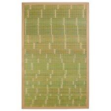 Keys Green Bamboo Area Rug