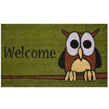 Owl Welcome Doormat