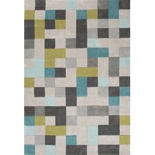 Annisha  Hand-Tufted Classic Gray Area Rug
