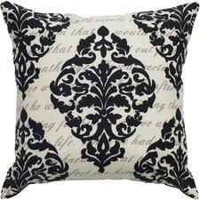 Dalorean Print Throw Pillow