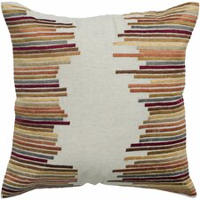 Cherrylin  Embroidered Throw Pillow