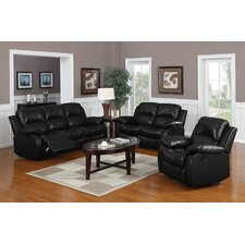 Montclair 3 Piece Reclining Living Room Set