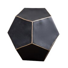 Dodecahedron End Table