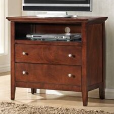 Whiskey 2 Drawer Media Chest