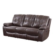 Holloway Motion Leather Reclining Sofa
