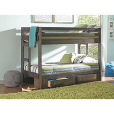 Wrangle Hill Youth Twin Bunk Bed with Storage