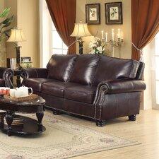 Briscoe Leather Modular Sofa