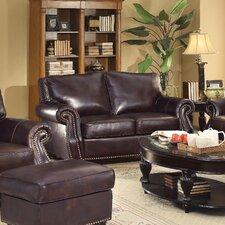 Briscoe Leather Modular Loveseat