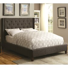 Upholstered Panel Bed