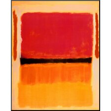 'Untitled (Violet, Black, Orange, Yellow on White and Red), 1949' by Mark Rothko Painting Print
