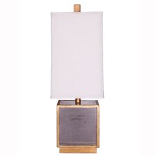 "Matilda 25.5"" H Table Lamp with Square Shade by Wildon Home"