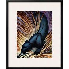 'Black Panther' by Frank Mcintosh Framed Graphic Art