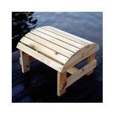 Bear Chair Ottoman Pine