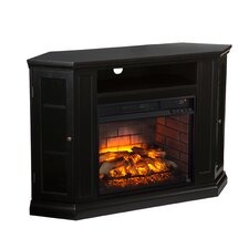 Chamberlain Convertible Media Infrared Electric Fireplace