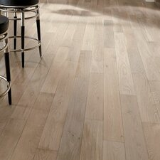 "5"" Engineered Oak Hardwood Flooring in Mystic Taupe"