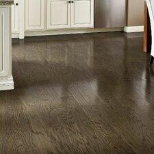 """5"""" Engineered Oak Hardwood Flooring in Oceanside Gray"""