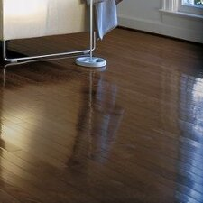 "2-1/4"" Solid Oak Hardwood Flooring in Walnut"