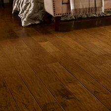 "5"" Engineered Hickory Hardwood Flooring in Tahoe"
