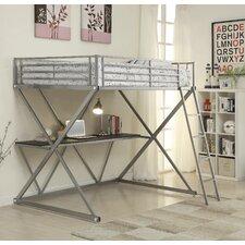 Workstation Loft Bunk Bed with Desk