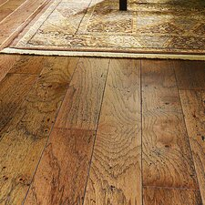 "Epic 5"" Engineered Hickory Hardwood Flooring in Burnt Sugar"