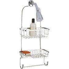 Jumbo Shower Caddy with Rectangular Basket