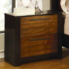 Coronado 2 Drawer Nightstand