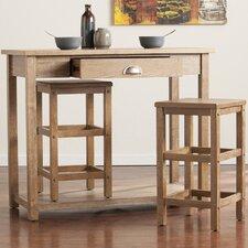Allen 3 Piece Pub Table Set