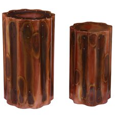 2 Piece Styx Blaze End Table Set