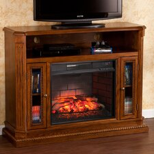 Delaney Media Console/ Stand Infrared Electric Fireplace