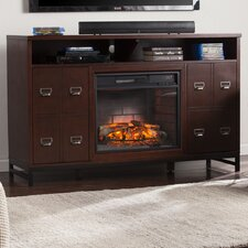 Rachtman Infrared Media Stand Electric Fireplace