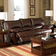 Red Bluff Bonded Leather Dual Reclining Sofa
