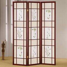 "70"" x 54"" Shoji 3 Panel Room Divider"