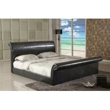 Montgomery Upholstered Sleigh Bed