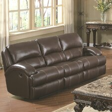 Capri Leather Reclining Sofa