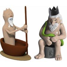 Caronte E Minosse Figurines