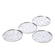 My Drop Glass Coaster by Pio and Tito Toso (Set of 4)