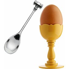 Dressed Egg Cup with Spoon