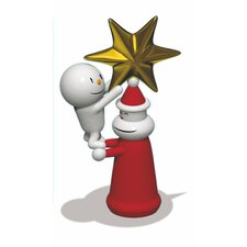 Holiday With a Little Help Christmas Ornament Figurine
