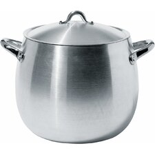 Mami 15.31-qt. Stock Pot with Lid by Stefano Giovannoni