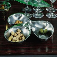 Ron Arad - Bar and Serveware Babyboop 3 Section Hors-d'oeuvre Divided Serving Dish