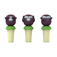 Orientales by Stefano Giovannoni Banana Boys Bottle Stoppers