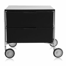 Mobil 2 Drawer Storage Chest