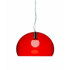 FL/Y 1 Light Suspension Bowl Pendant