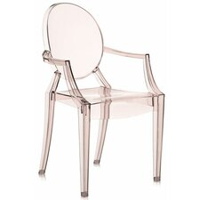 Louis Ghost Arm Chair (Set of 2)