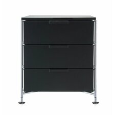 Mobil 3 Drawer Storage Chest