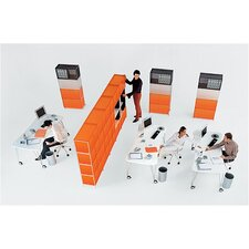 "One 18.5"" Cube Unit Bookcase"