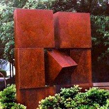 Parenthesis Garden Statue