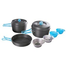 10 Piece 4 Person Hard-Anodized Cook Set