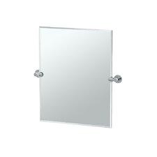 Channel Rectangular Mirror